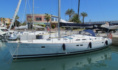 Oceanis 47 Alicante Costa Blanca Spain