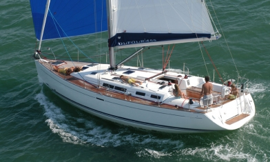 Dufour 455 Grand Large Tino Rossi Marina Corsica France