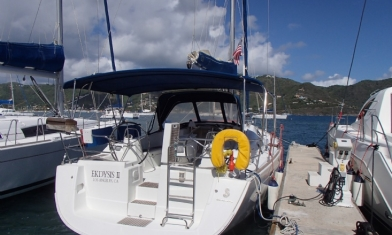 Oceanis 43 Road Town Tortola British Virgin Islands