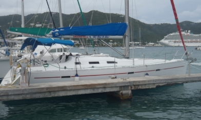 Beneteau 393 Road Town Tortola British Virgin Islands