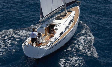 Bavaria 31 cruiser Kontokali Corfu Greece
