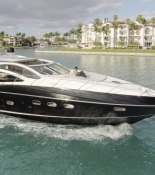 Sunseeker Miami Beach Marina Florida USA