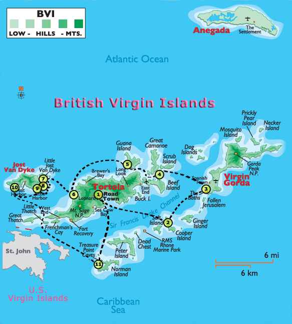 islands airport in british virgin